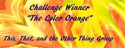 Banner Challenge Winner - Orange by quiltmaker