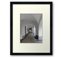 Prague - Arcades in the Old Town Framed Print