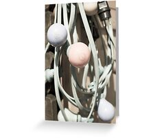 Light Bulbs (Colored) Greeting Card