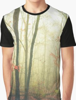 The Woods Are Lovely Dark and Deep Graphic T-Shirt