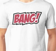BANG - red and black Unisex T-Shirt