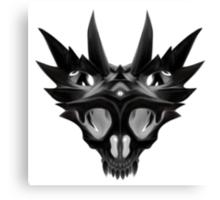 HorndSkull - Inversion Canvas Print