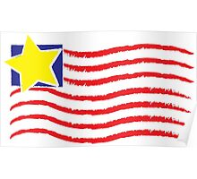 Flag Day! Wear it Proud! Poster