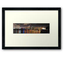 High Resolution - Miami Skyline Framed Print