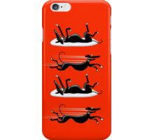 Zoomin' Snoozin iPhone (red) iPhone Case/Skin