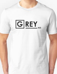 Grey's Anatomy -  Grey MD Unisex T-Shirt