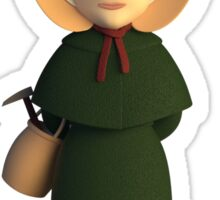 Mary Anning - Hammer Time! Sticker
