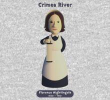 Florence Nightingale - Crimea River! Kids Tee