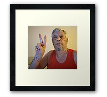 Today's a HUGE day -- most countries are going to vote 'yes' and Palestine will become the world's 194th nation at the United Nations.  2012-11-29 Framed Print