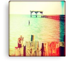 Fishing Pier I Canvas Print