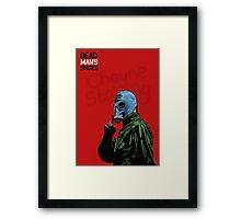 Dead Man's Shoes Paddy Considine Comic Style Illustration Framed Print