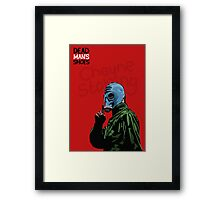 Dead Man's Shoes Paddy Considine Comic Style Illustration Framed Print