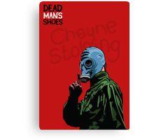 Dead Man's Shoes Paddy Considine Comic Style Illustration Canvas Print