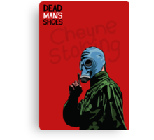 Dead Man's Shoes Paddy Considine Comic Style Illustration Canvas Print