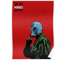 Dead Man's Shoes Paddy Considine Comic Style Illustration Poster