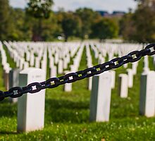 Study of the Chains of Arlington Cemetery (2 of 3) by Kurt LaRue