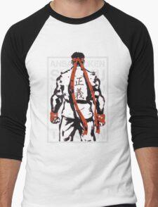 RYU01 - GRAY Men's Baseball ¾ T-Shirt