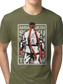 RYU01 - GRAY Tri-blend T-Shirt