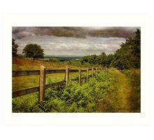 Beacon Hill, Leicestershire, UK Art Print