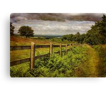 Beacon Hill, Leicestershire, UK Canvas Print