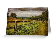 Beacon Hill, Leicestershire, UK Greeting Card