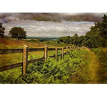 Beacon Hill, Leicestershire, UK Photographic Print