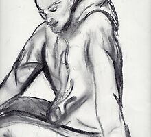 Charcoal sketch 1 by Helen Carmichael