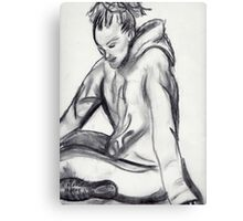 Charcoal sketch 1 Canvas Print