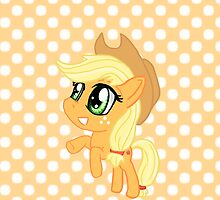 My Little Pony Applejack AJ Chibi by IcyPanther