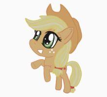 My Little Pony Applejack AJ Chibi Kids Tee
