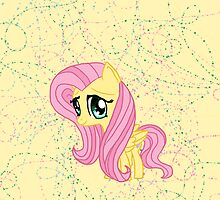 My Little Pony Fluttershy Chibi by IcyPanther