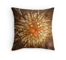 Golden Be Dazzle Throw Pillow
