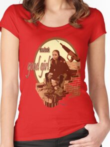"""Snoop's Tee (""""The Wire"""") Women's Fitted Scoop T-Shirt"""