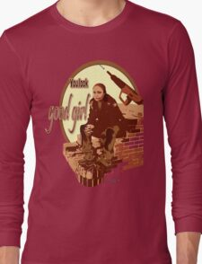 """Snoop's Tee (""""The Wire"""") Long Sleeve T-Shirt"""
