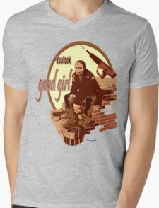 """Snoop's Tee (""""The Wire"""") Mens V-Neck T-Shirt"""