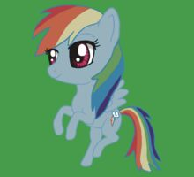 My Little Pony Rainbow Dash Chibi One Piece - Short Sleeve