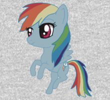 My Little Pony Rainbow Dash Chibi One Piece - Long Sleeve