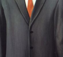 Magritte - Son of Man Parody Sticker