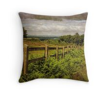 Beacon Hill, Leicestershire, UK Throw Pillow