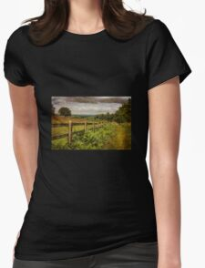 Beacon Hill, Leicestershire, UK Womens Fitted T-Shirt
