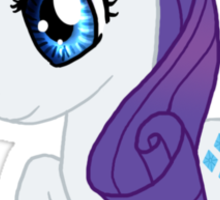 My Little Pony Rarity Chibi Sticker