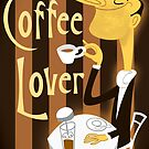 The Coffee Lover by drawgood