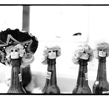 Bottles and Fawcetts by KingstonPrints