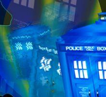 TARDIS STONEHENGE PORTAL Sticker