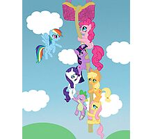 My Little Pony Group Hanging Out Photographic Print
