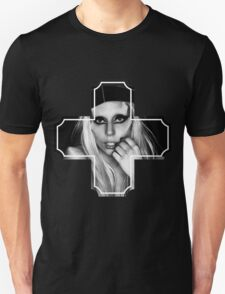 Lady Gaga in Cross T-Shirt