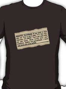 Safety Not Guaranteed T-Shirt