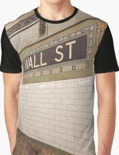 Wall St Subway Tile Graphic T-Shirt