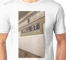 Wall St Subway Tile Unisex T-Shirt