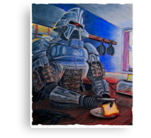 Toasters make Toast - Cylon Print Canvas Print